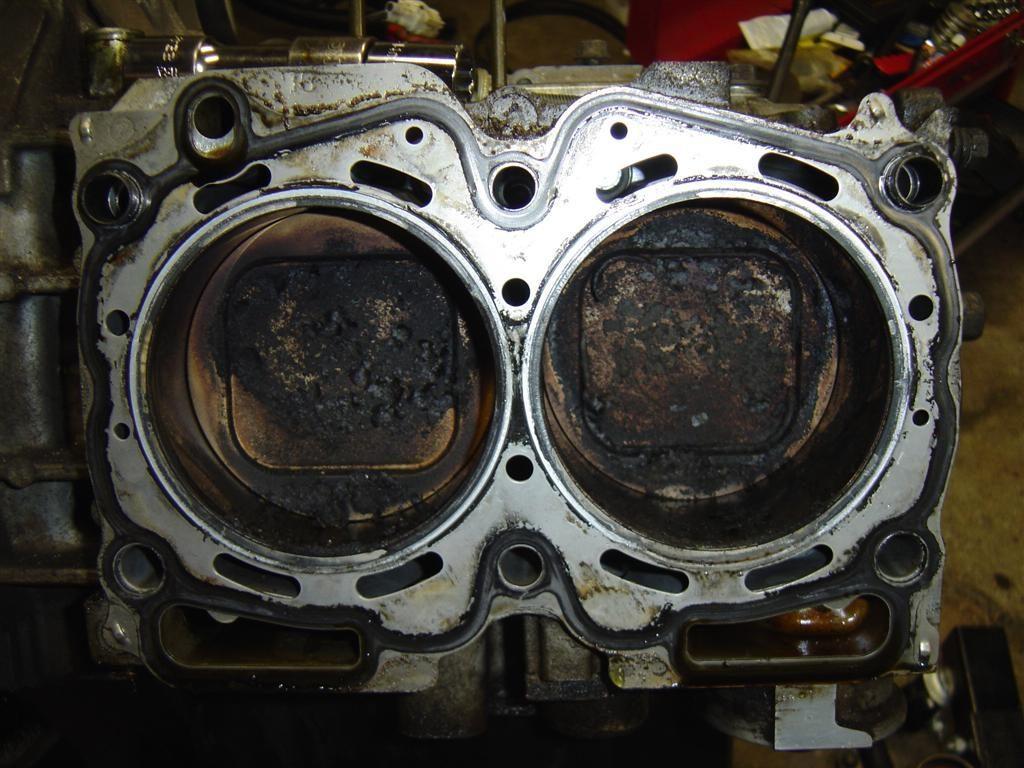 damaged Subaru head gasket problems