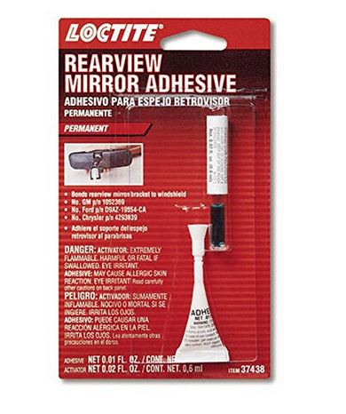 Loctite Rearview Mirror Adhesive