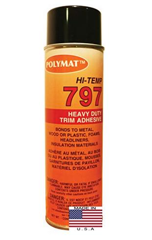 Polymat Hi-Temp 797 Spray Glue Adhesive