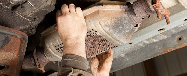 clogged catalytic converter symptoms