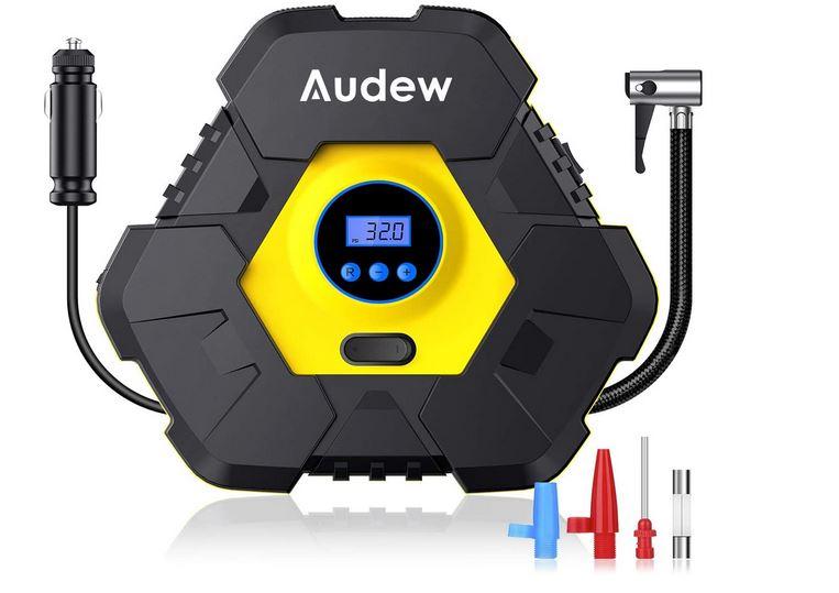 10. Audew Portable Air Compressor Pump