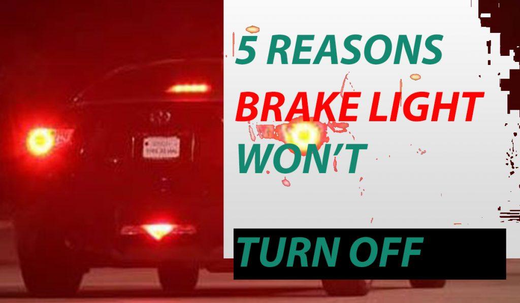brake lights won't turn off honda civic