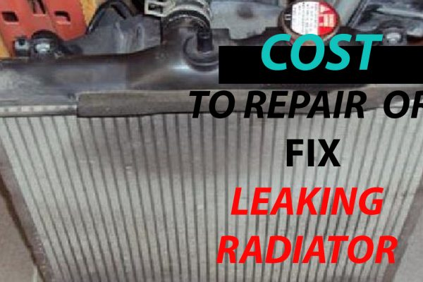 how much does it cost to fix a radiator leak