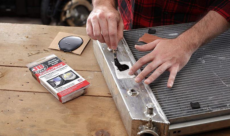 How To Fix A Radiator Leak With J-B Weld